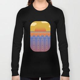 Pool Sunset Long Sleeve T-shirt