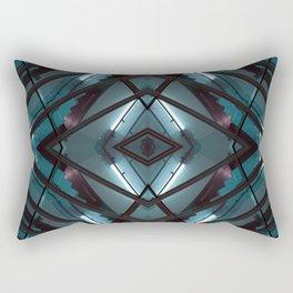 JWS 1111 - digital symmetry Rectangular Pillow