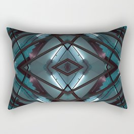 JWS 1111 - digital symmetry Rectangular Pillow