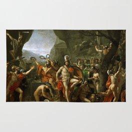 Leonidas at Thermopylai  Rug