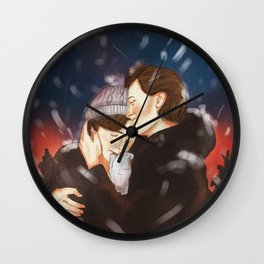 Isak+Even x Winter Wall Clock