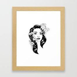 Larisa portret Framed Art Print