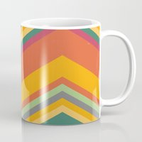 summer Mugs featuring summer by contemporary