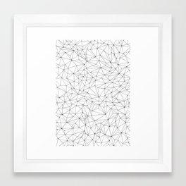 hand-drawn pattern no 9 Framed Art Print