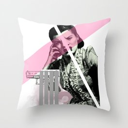 Animosity Throw Pillow
