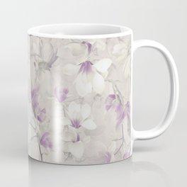 VIOLET MAGNOLIAS Coffee Mug