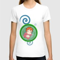 ponyo T-shirts featuring Ponyo  by SamIAmTheSam