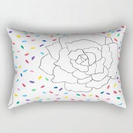 Peony Confetti Fiesta Rectangular Pillow