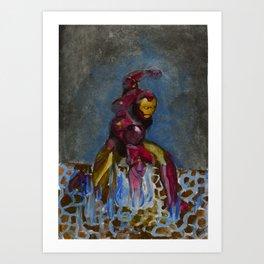 Iron Punch Art Print