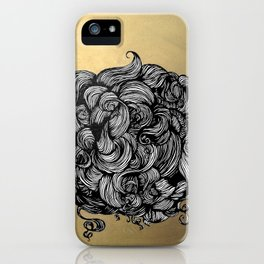 hairball iPhone Case