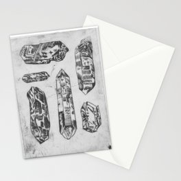 Arrangement of Crystals Stationery Cards