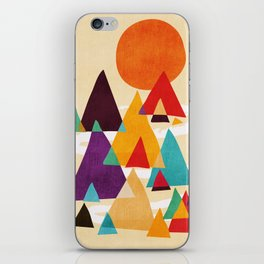 Let's visit the mountains iPhone Skin