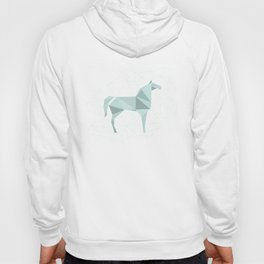 Blue Horse by Frzitin Hoody