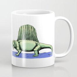 Polychrome Dimetrodon Coffee Mug