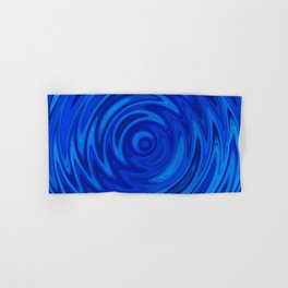 Water Moon Cobalt Swirl Hand & Bath Towel