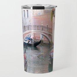 Exploring Venice by Gondola Travel Mug