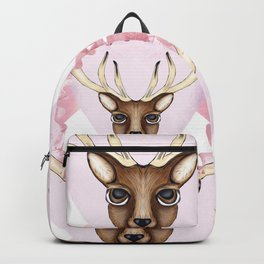 Pink Deer - Ciervo Rosa Backpack