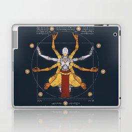 Vitruvian Omnic - color version Laptop & iPad Skin