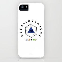 "Alea iacta est ""The die is cast"" iPhone Case"