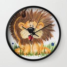 Lucas the Lion Wall Clock