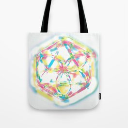 rainbow mandala Tote Bag