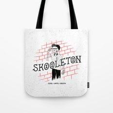 Skooleton Tote Bag