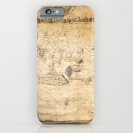 Plan of the Siege of the Havana Surrender (Aug. 12, 1762) iPhone Case