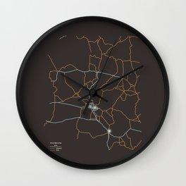 Arizona Highways Wall Clock