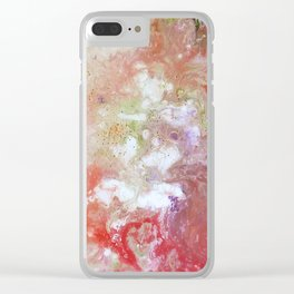 Fruitful colours Clear iPhone Case