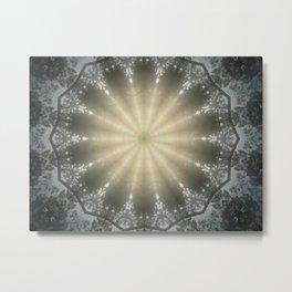 Sun Swirl Metal Print