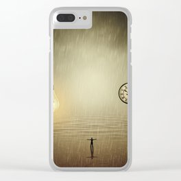 idea and time concepts Clear iPhone Case