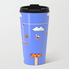 Mario Sky Metal Travel Mug