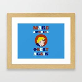 Make America Great Again (Trump) Framed Art Print