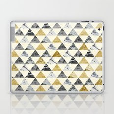 Marble Triangles 1 Laptop & iPad Skin