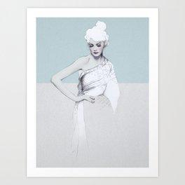 Audrey Art Print