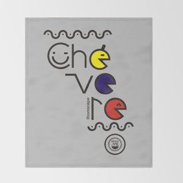 ¡Chévere Tricolor! Throw Blanket