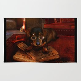 The Book of Dogtalk Rug