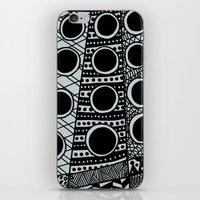 dalek iPhone & iPod Skins featuring Dalek by Rebecca Bear