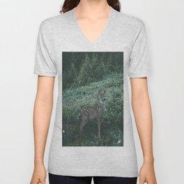 Deer II Unisex V-Neck