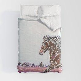 Wild Horse 1 Comforters