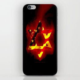 UNITED STATE OF ISREAL 011 iPhone Skin