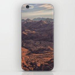 Punta de la Sierra iPhone Skin