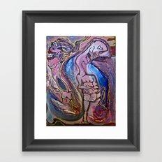 The Odd Couple Framed Art Print
