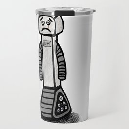 RU5-T the Robot Travel Mug