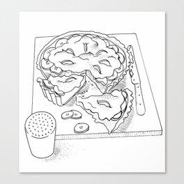 Banoffee Pie Canvas Print