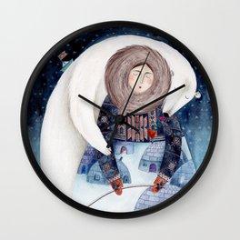 eskimo Wall Clock