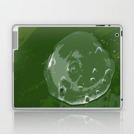 Waterdrop on Green Laptop & iPad Skin