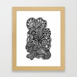 Tangled Trunk Framed Art Print