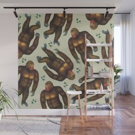 Steve the Gorilla Wall Mural