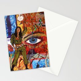 Militant Millie and the Peace Grenade Stationery Cards